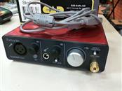 FOCUSRITE SCARLETT SOLO USB Interface with USB Cable